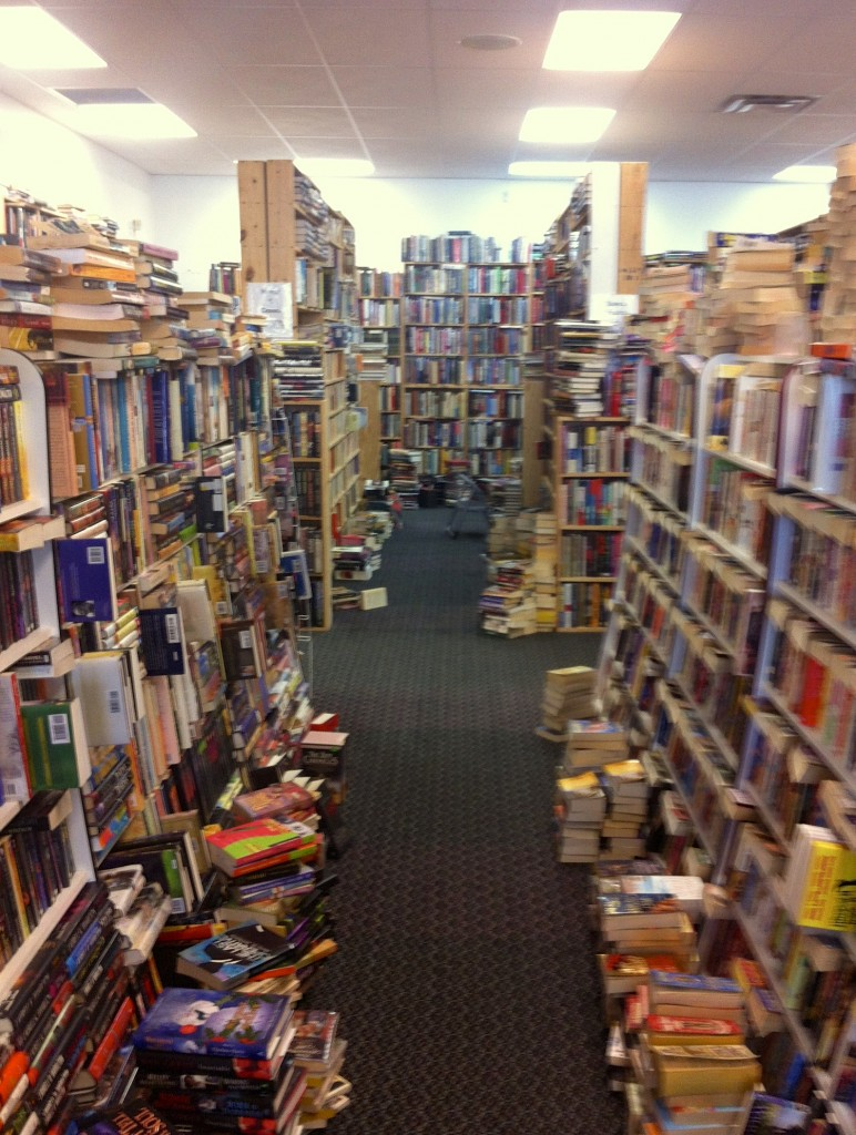 Inside the bookstore photo