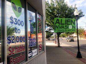 Alien loan store, Roswell