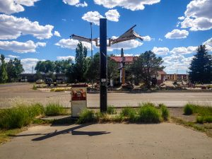 Abandoned gas station, Vaughn NM