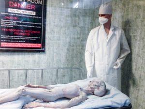 Autopsy scene, Roswell UFO museum