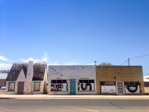 Abandoned buildings, Roswell NM
